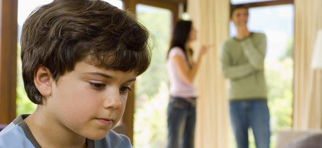 El divorcio de los padres y la reacción de los hijos