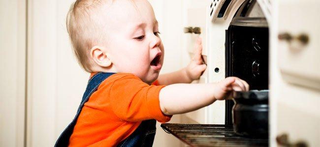 Prevención de accidentes con niños en casa