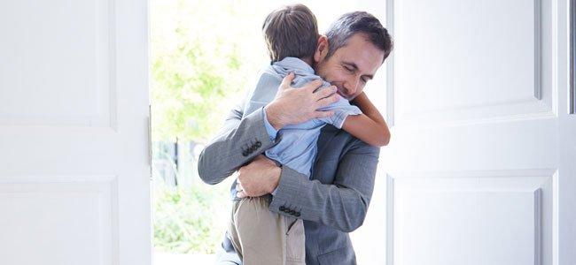 Un buen padre para los hijos