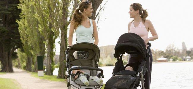 Madres con bebés