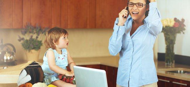 Ser madre, trabajar, llegar a todo y no angustiarse