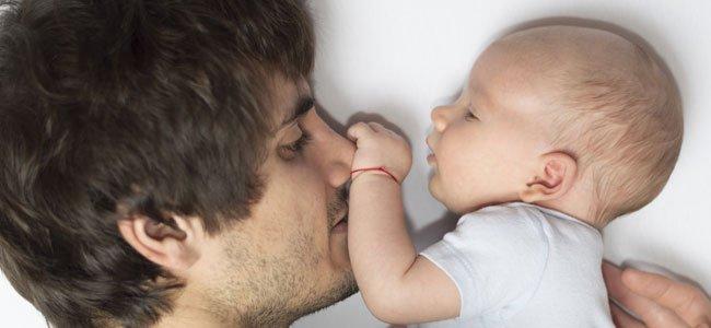 Pare con bebé