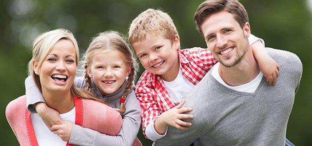 padres con hijos
