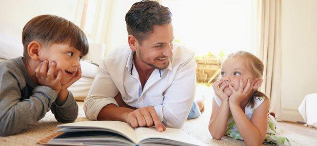 Resultado de imagen para padre y niños