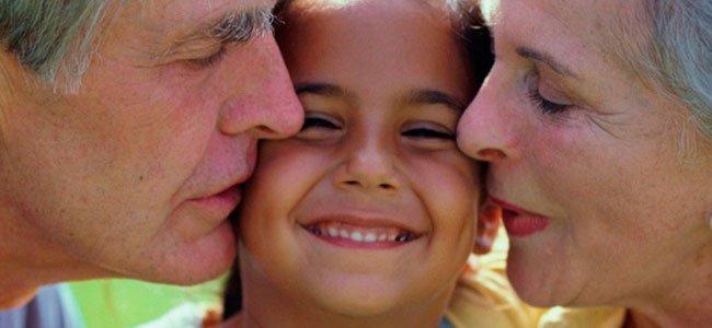 El papel de los abuelos con los nietos