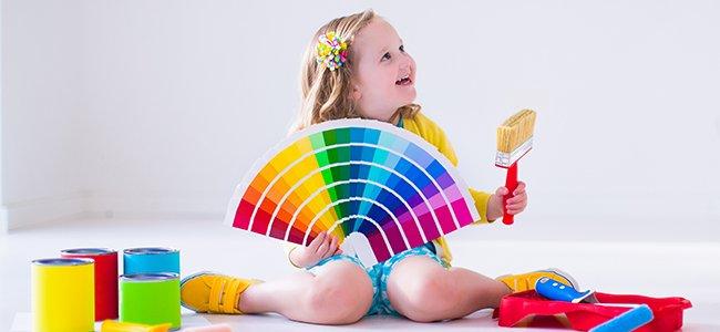 Los colores de habitaciones infantiles