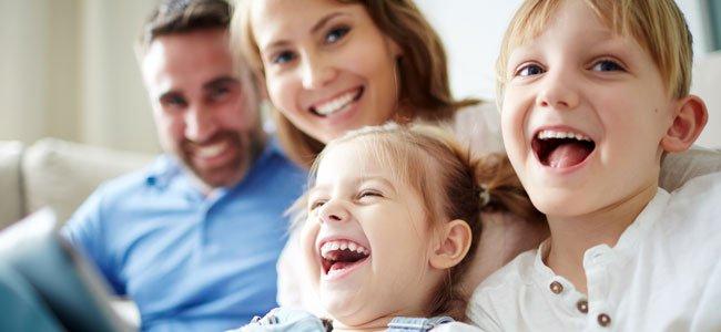 Las risas y el buen humor de los niños