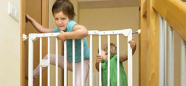 La seguridad de los niños en casa