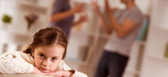 Efecto del divorcio de los padres en los hijos