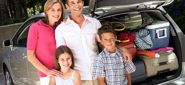 Seguridad en la carretera en viaje con niños