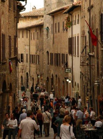 Moverse a pie por Florencia