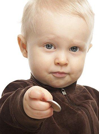 Cuándo un bebé se atraganta con algún objeto