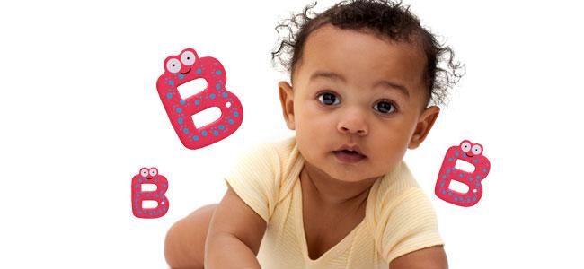 Nombres Para Niños Y Niñas B