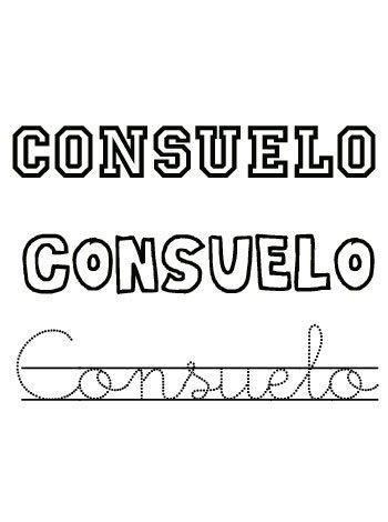Dia de santo de Consuelo. 4 de septiembre