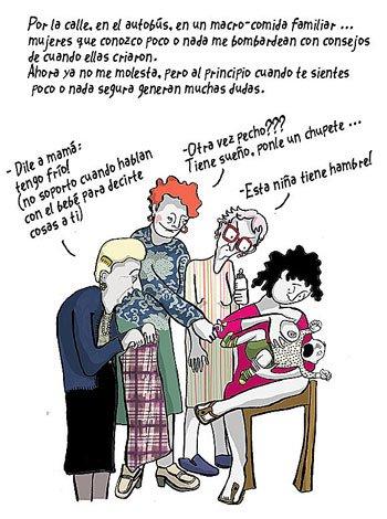 Dile a mamá, ilustración de Glòria Vives