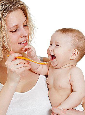 Papilla para bebés