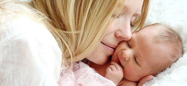 Madre con su recién nacido
