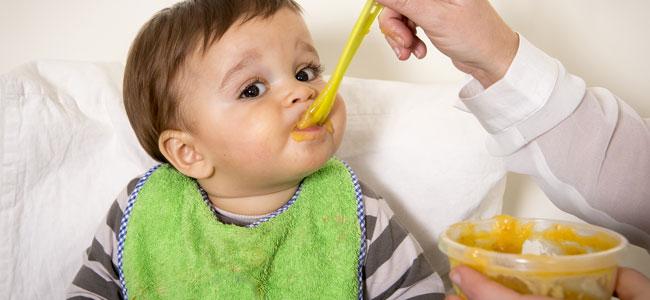 Primeras papillas de verduras con carne para el beb - Pures bebes 6 meses ...