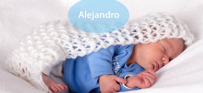 Bebés con el nombre Alejandro