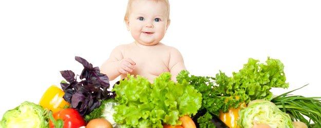 Alimentación del bebé y del niño por edades