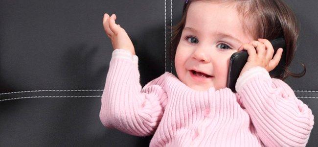 Bebe Hablando Por Telefono: Trucos Para Enseñar A Hablar A Tu Bebé