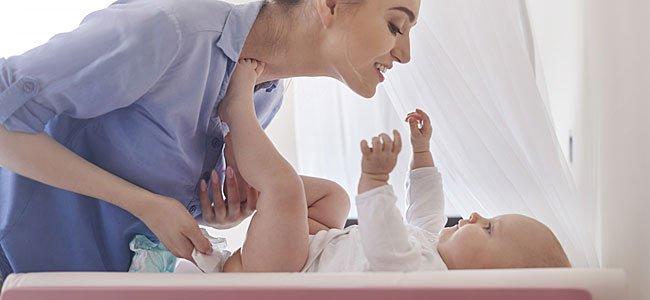 Cómo evitar las asaduras en los bebés