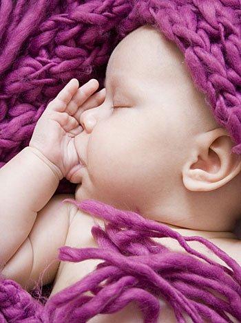 Cuando el bebé se chupa los dedos