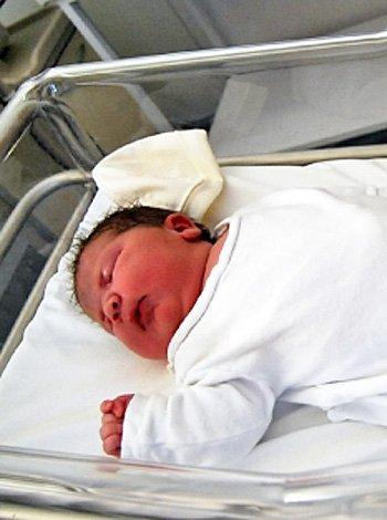 El bebé español más grande por parto natural