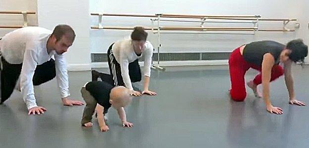 Vídeo del bebé coreógrafo más joven del mundo