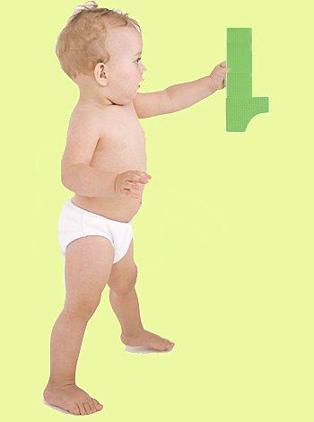 Numerología para bebés. Bebé con el número 1