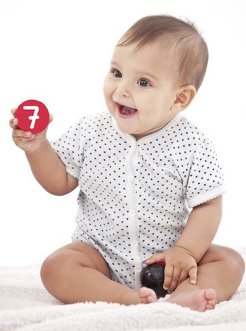 Numerología del nombre para bebés. Número 7
