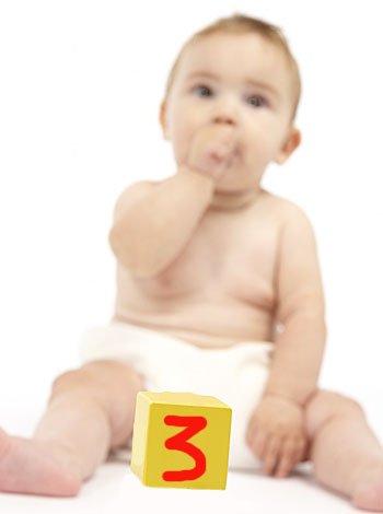 numerología del nombre del bebé. Número 3