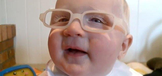 Bebé albino