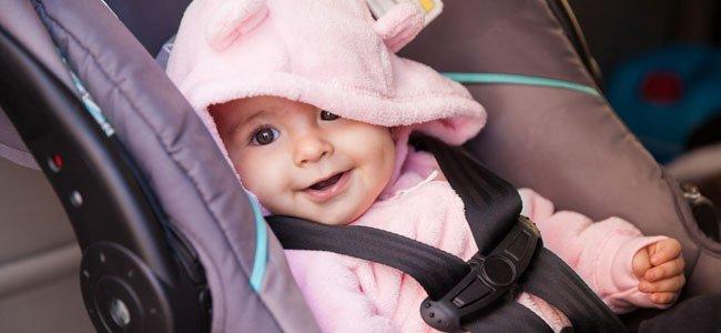 Sillitas de auto para bebés