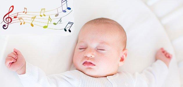 Bebé duerme notas