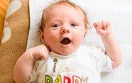 Bebé expresivo