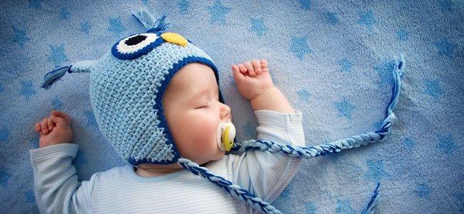 Recién nacido de azul