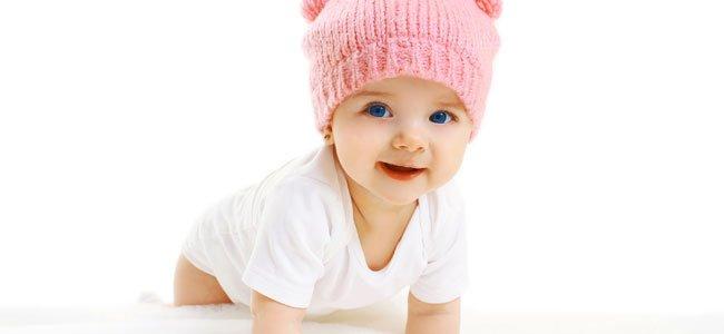 Bebé gatea