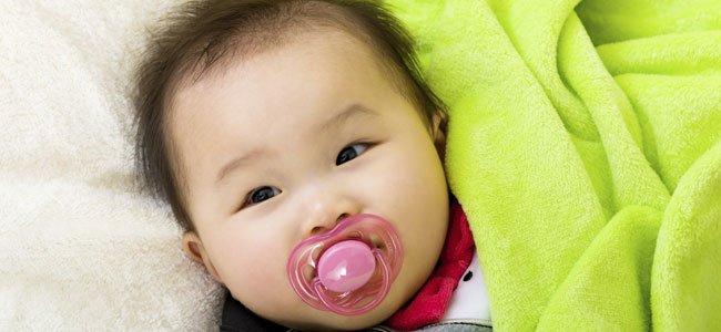 Bebé chino niña
