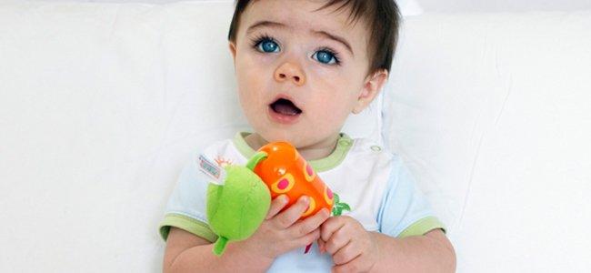 El bebé de 15 meses