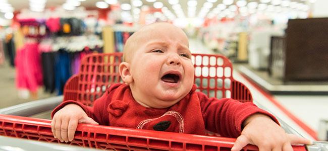 Por qué no ir al centro comercial con el bebé