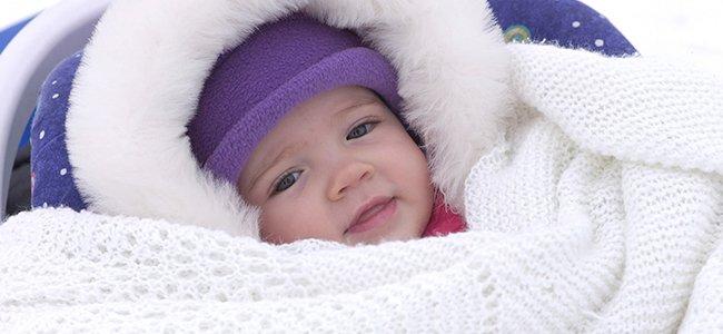 Cómo abrigar bien al bebé