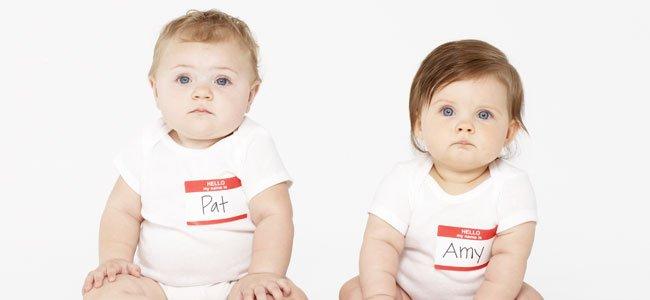 Bebés con nombres
