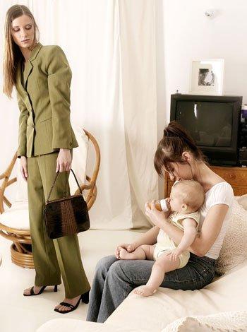 Canguro o guardería para el cuidado del bebé 2