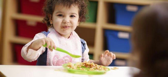 Cómo es la alimentación de los niños en la guardería
