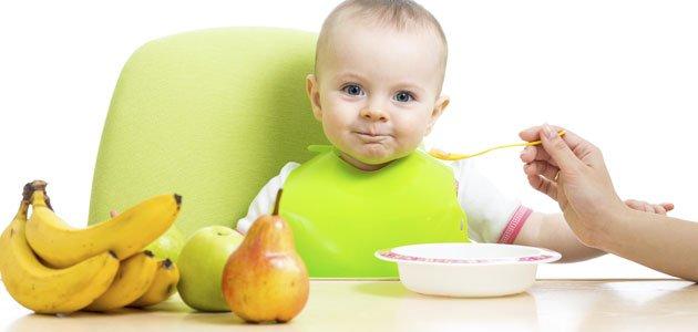 Cómo hacer los primeros purés del bebé
