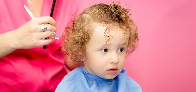 Corte de cabello bebes nino