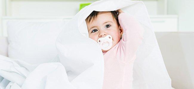 Cuándo debe dejar de usar chupete un bebé