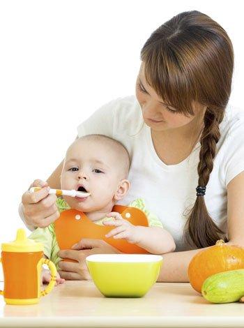 Destete del beb alimentaci n en el octavo y noveno mes - Alimentos bebe 8 meses ...