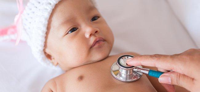 Enfermedades comunes en el bebé